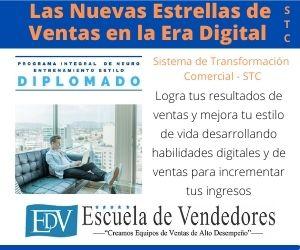 """Diplomado: """"Las Nuevas Estrellas de Ventas de la Era Digital""""  – STC"""